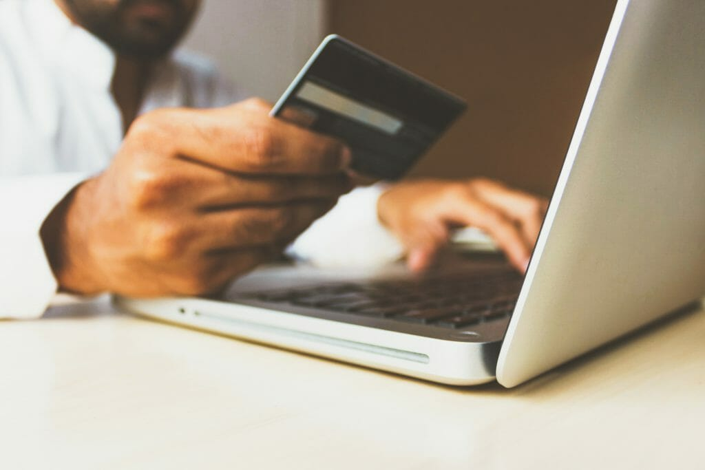Guaranteed payday loans no matter what Australia typed into search engine with silver laptop
