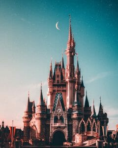 Disney Plus Castle